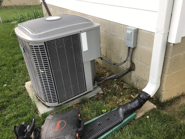 Hilliard, OH - I completed a diagnostic service call on an ICP air conditioner. I determined that due to the age and condition that it is best to replace the unit.