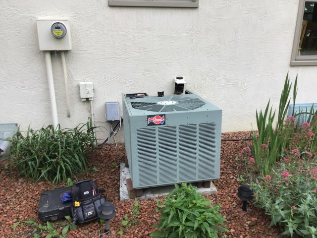 Pickerington, OH - I completed a diagnostic service call on a Rheem heat pump, I recommended replacing the unit due to its age and current condition.