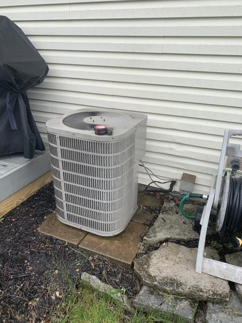 Pickerington, OH - I completed a return service for a Goodman air conditioner. I determined that the unit was operating as intended.