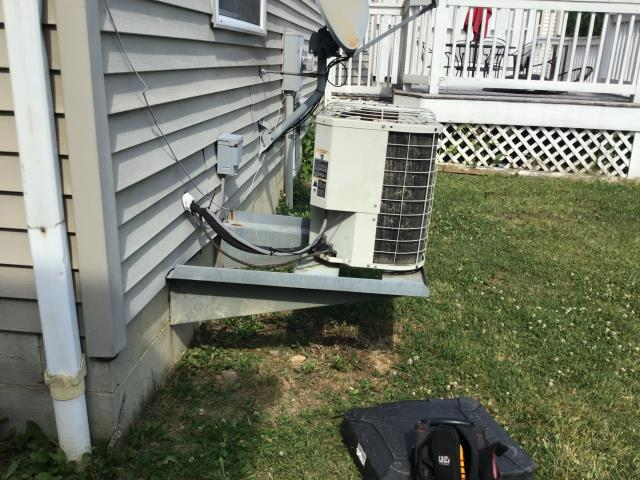 Columbus, OH - I arrived on site to perform an inspection on a Bryant Air-conditioning unit. The unit had a clogged filter that I removed. I also saw the unit had a leak caused by low pressure. The customer decided, due to the age of the unit, that they would go with a new unit that would be installed later in the week.