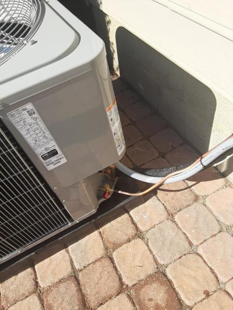 Powell, OH - I arrived on site to perform an inspection on a Trane air conditioning unit. During the inspection I found that the high voltage panel for the disconnect was not protected, causing insulation problems. I applied new insulation to the system and the unit was running at full functionality at the time of departure.