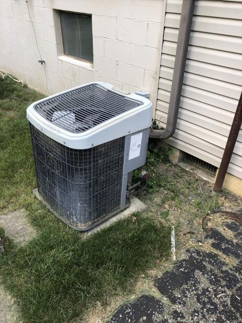 Westerville, OH - I completed a diagnostic on a ICP Air Conditioner. I determined that there was a short in low voltage in the condenser.