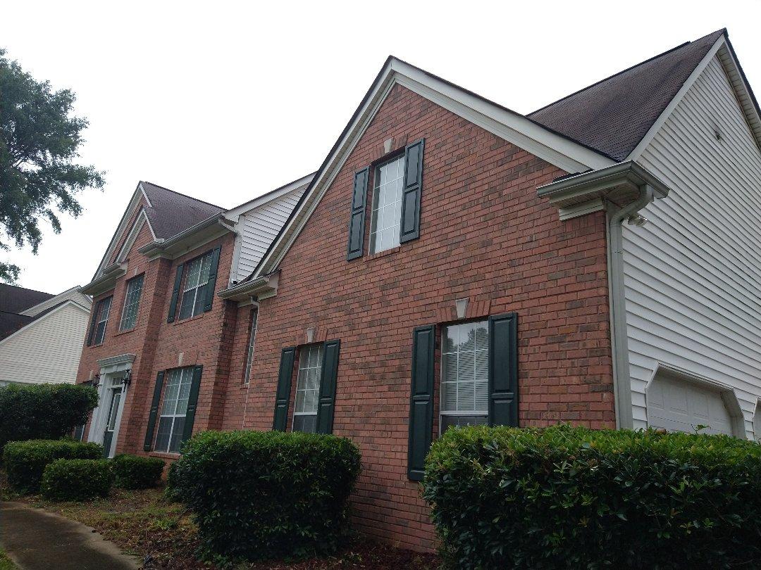 Jonesboro, GA - At roof leak inspection
