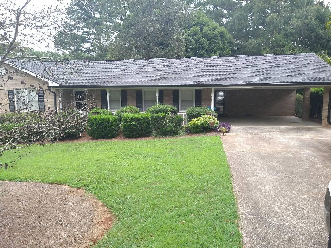 Lilburn, GA - Small roof repair in snellville Georgia
