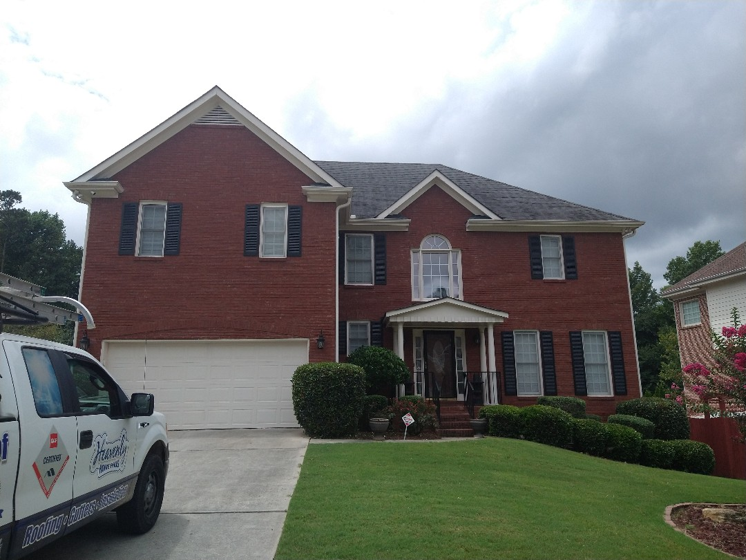 Snellville, GA - At roof inspection in snellville Georgia