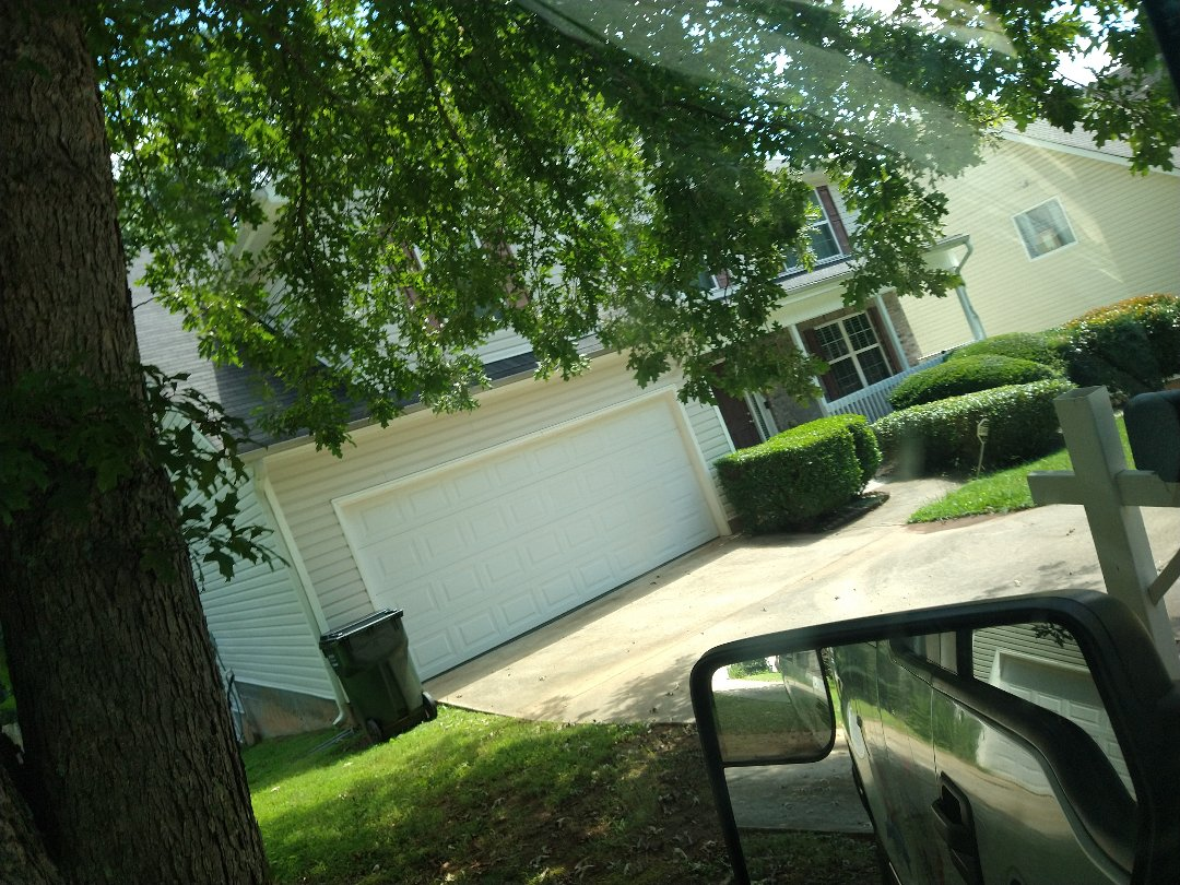 Snellville, GA - Meeting insurance adjuster to look at roof for storm damage