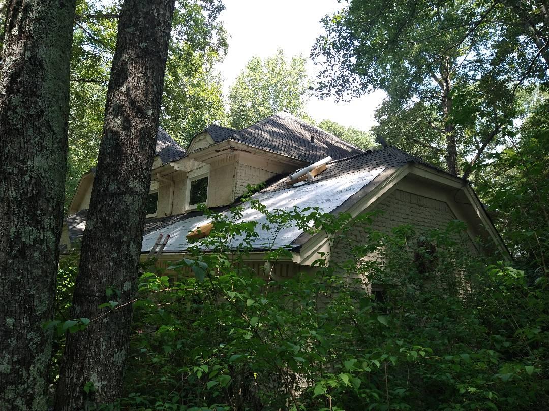 Stone Mountain, GA - At four square roof repair