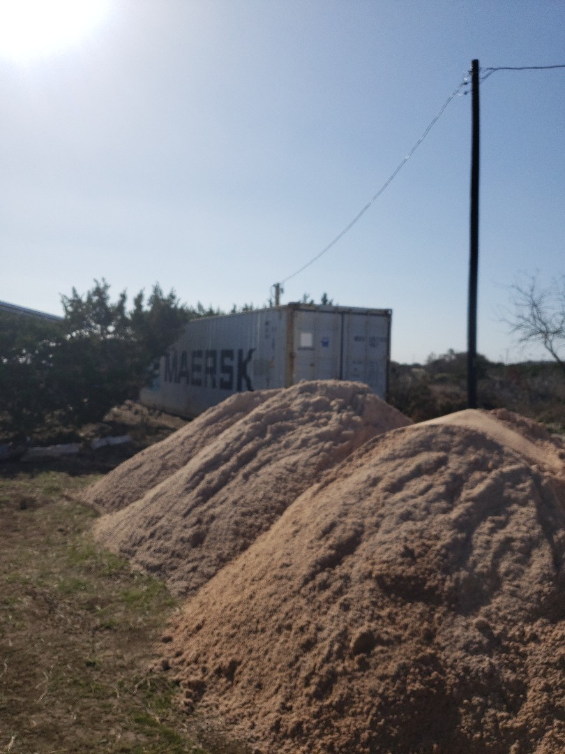 Johnson City, TX - Million dollar view  Shipping container residence. Storage containers for rent and sale.