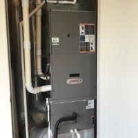 Bellbrook, OH - Changed condensate line/drain on older lennox furnace