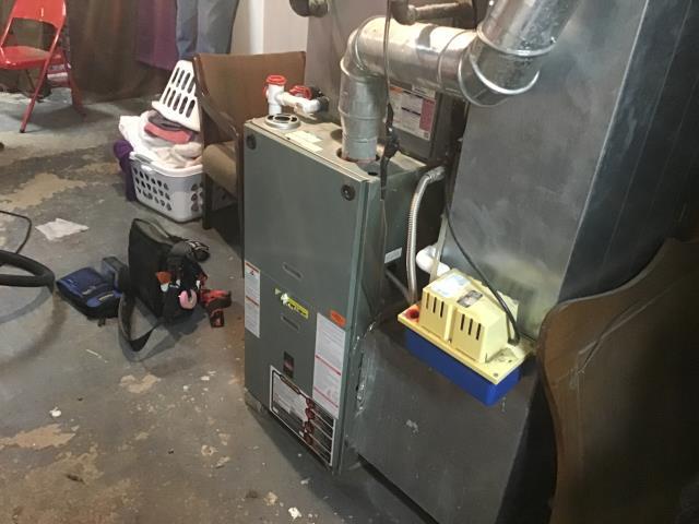 Xenia, OH - Furnace repair
