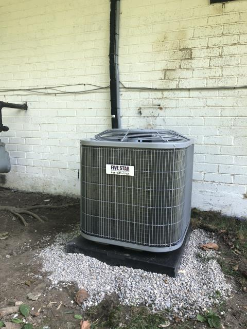 Huber Heights, OH - Installed Five Star 80% 70,000 BTU Gas Furnace, Five Star 13 SEER 2 Ton Air Conditioner, and Carrier Evaporator Coil as Full Install. Condensate Pump also replaced.