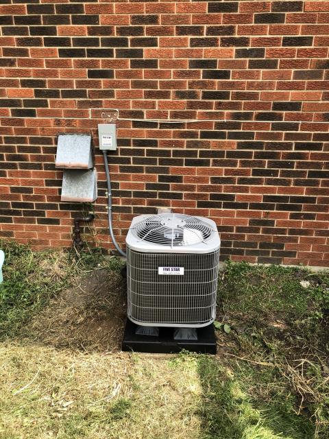 Centerville, OH - I installed a new Five Star 13 SEER 2 Ton Air Conditioner