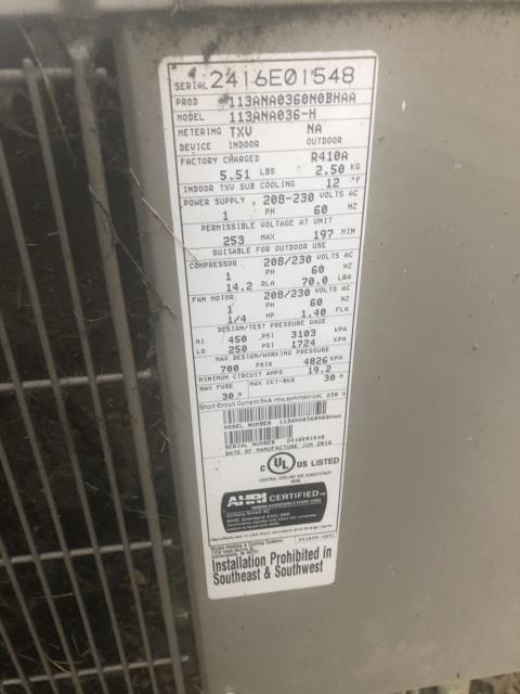 Dayton, OH - upon arrival customer stated that the 2016 Bryant furnace would only run for a few minutes and then shut off system was throwing error code 3+1 for pressure switch did not close. Upon inspection found the hose that connects to the water collector box to be completely disconnected