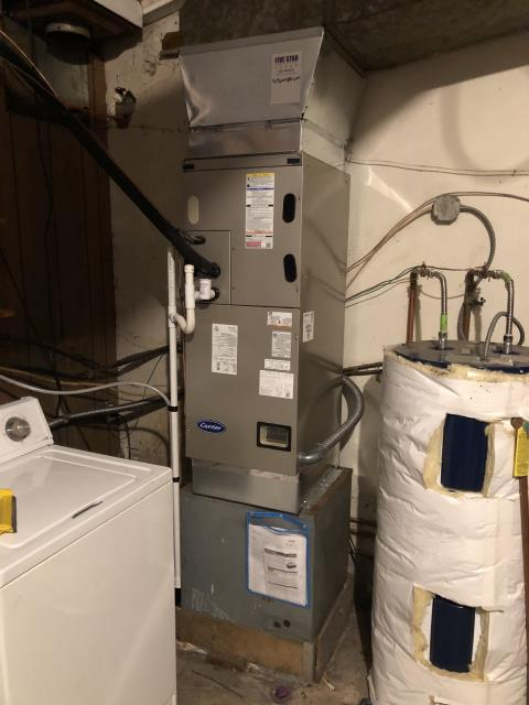 Dayton, OH - I performed a Air duct cleaning that helps to eliminating dust, mold and other contaminants from your heating and air conditioning system ductwork