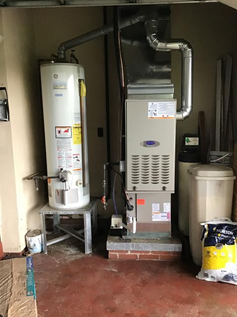 Xenia, OH - 	I am Performing our Five Star Tune-Up & Safety Check on a 2020 Carrier  Gas Furnace. All readings were within manufacturer's specifications, unit operating properly at this time.