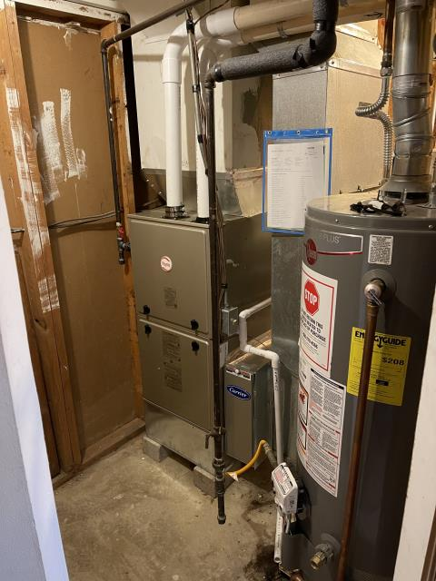Springfield, OH - I installed a Five Star 96% Gas Furnace 60,000 BTU.  Included with install was a free 1 year service maintenance agreement.