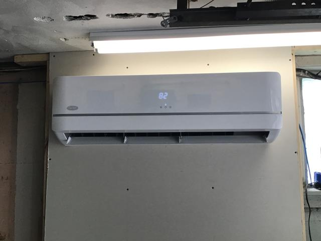 Centerville, OH - I had a callback on a 2020 Carrier mini-split due to an error code. Line temps were found to be within manufactures specs. I cleaned the filter in the upstairs unit and Further explained the operating procedures to the customer.