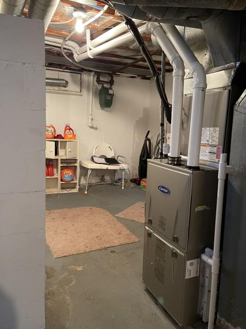 Springfield, OH - I installed a Carrier 96% 60,000 BTU Gas Furnace and a Carrier 16 SEER 2 Ton Air Conditioner