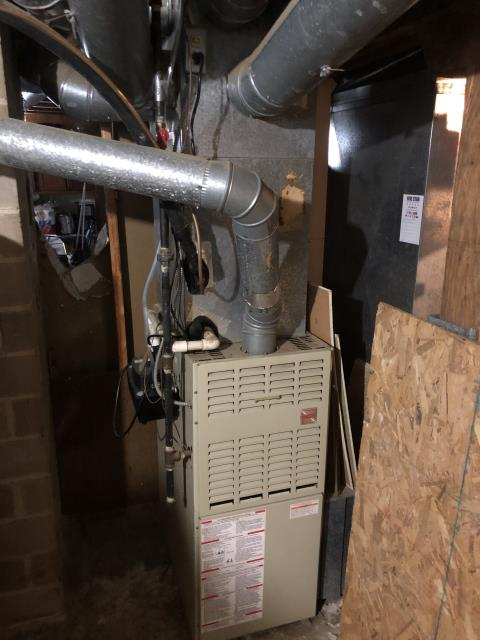 Kettering, OH - I found large amounts of dirt inside the furnace cabinet. I was able to clean it out. I cycled the system multiple times and everything is functional.