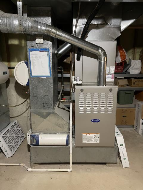 Centerville, OH - I installed a Carrier 80% 110,000 BTU Gas Furnace