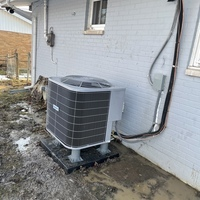 Trotwood, OH - Installation of Five Star Multi-Speed 2.5 Ton Electric Furnace at customer's home. Also installation of a Five Star Heat Pump. Customer receiving a 1-year scheduled maintenance agreement for entire system with purchase.