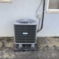Trotwood, OH - Full system installation of furnace and AC. High efficiency furnace and AC combo. Both systems are Five Star brand. Customer will receive a full year of scheduled maintenance on both systems as a courtesy for the full system installation.