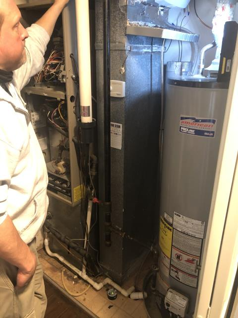 Fairborn, OH - Upon inspection, I found the thermostat was faulty and needed replaced. Customer will pick up a new one and will call us back out to install. System is not operational upon departure.