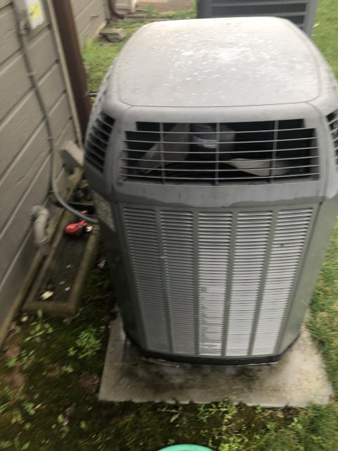 Fairborn, OH -  I replaced the Suction Line Sensor and finished charging the system for a Trane air conditioner.