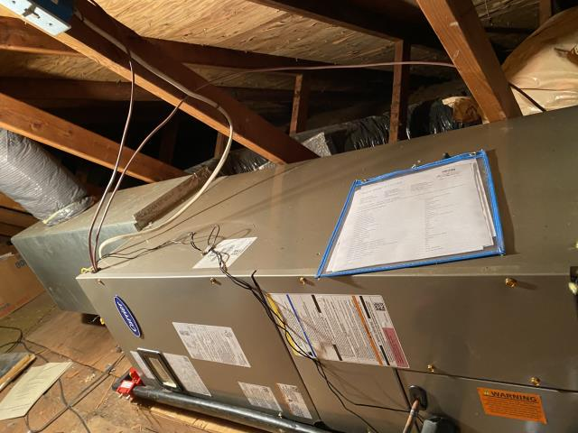"""Beavercreek, OH - I installed a Five Star Multi-Speed X-13 2 Ton Electric Furnace / """"Slant"""" Coil, and a Five Star 14 SEER 2 Ton Heat Pump.  Both new systems were fully operational upon departure."""