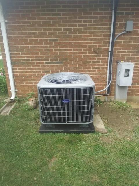 Beavercreek, OH - I installed a Five Star 16 SEER 3 Ton Air Conditioner.  The system was fully operational when I left.