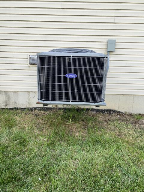 Fairborn, OH - I installed a Five Star13 SEER 3 Ton Air Conditioner. System is set and customer is ready for the cooling season