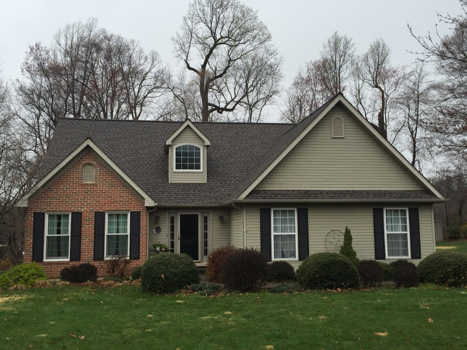 Kennett Square, PA - GAF High Definition Roof recently installed by Homecraft, Inc