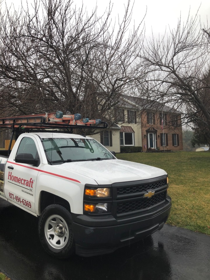West Chester, PA - Mastic Gutters and soffit  and a Pro Via patio door