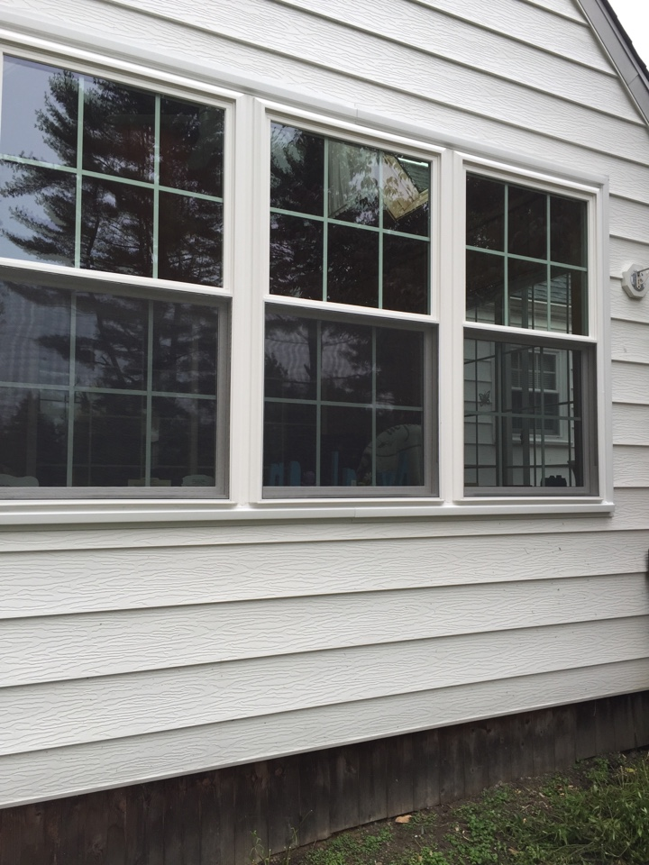 West Chester, PA - Wind blocker double hung Windows