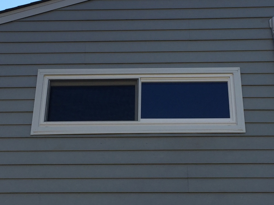 West Chester, PA - A WindBlocker 2-Lite Slider Window recently installed by Homecraft, Inc.