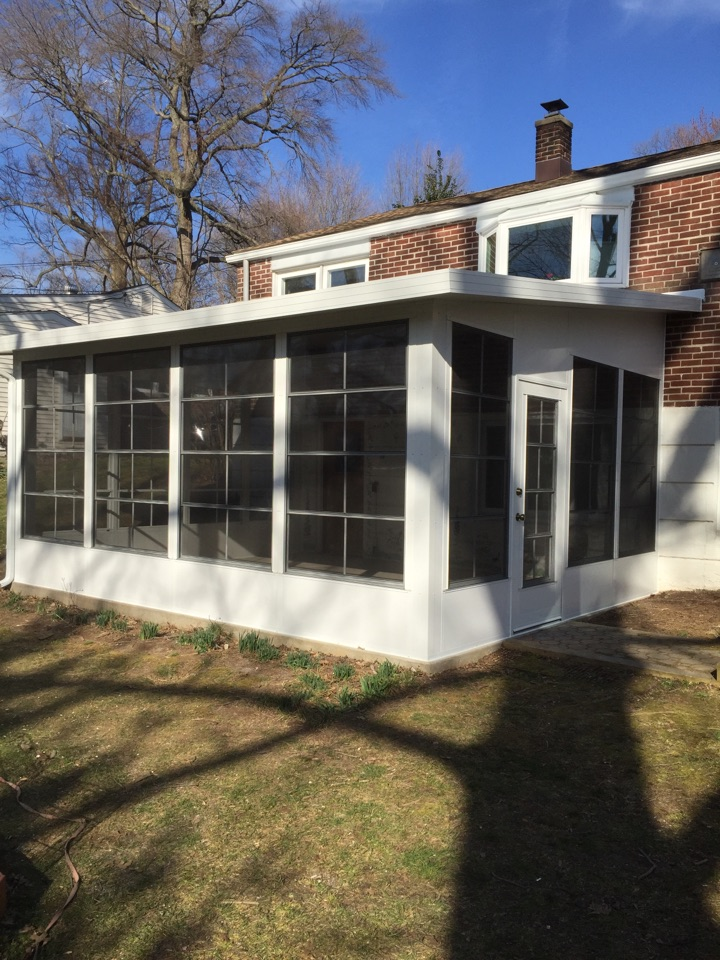 Aston, PA - 3 Season Sunroom Enclosure