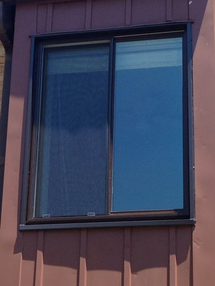 Brookhaven, PA - Vinyl Slider Windows recently installed by Homecraft, Inc.