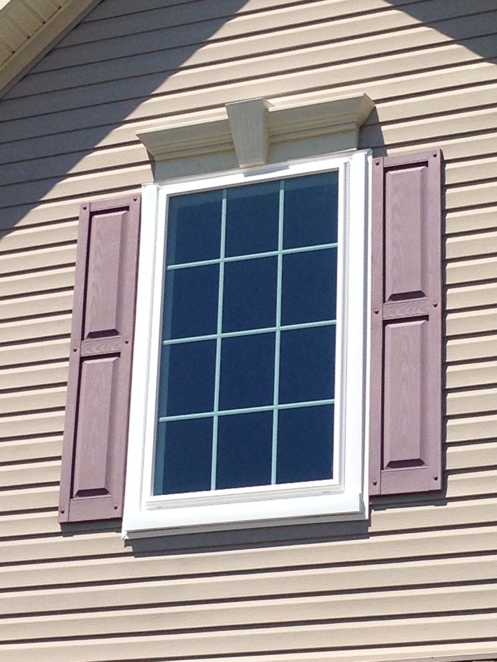 Townsend, DE - A WindBlocker Vinyl Picture Window recently installed by Homecraft, Inc.