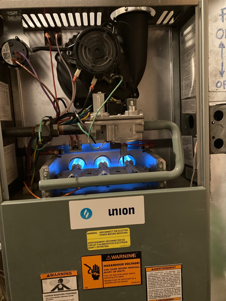 Guelph, ON - Rheem furnace service call for no heat in Guelph Ontario