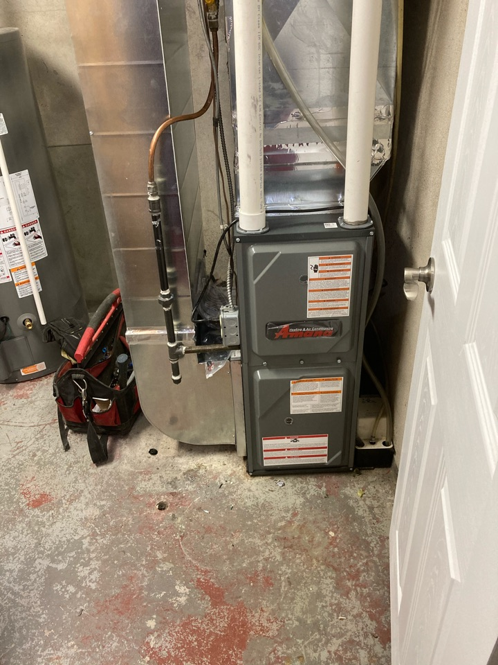 Guelph/Eramosa, ON - Amana AMEC96040 furnace install In Guelph.