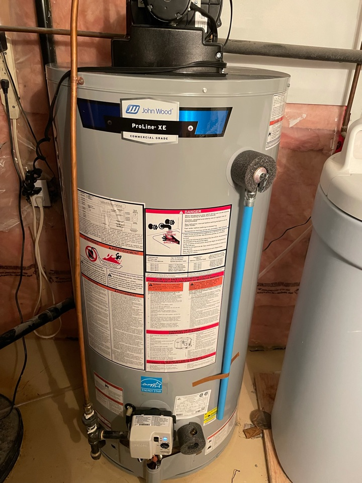 Guelph, ON - Install of a new John Wood PV50 water heater