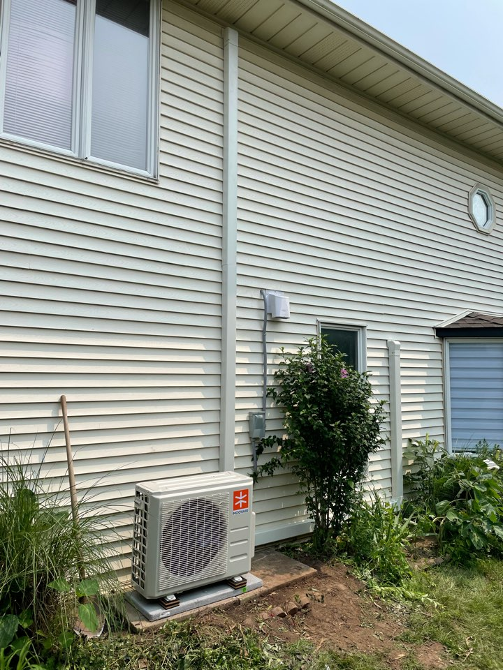 Guelph, ON - Install of a Ductless system for a Guelph Customer