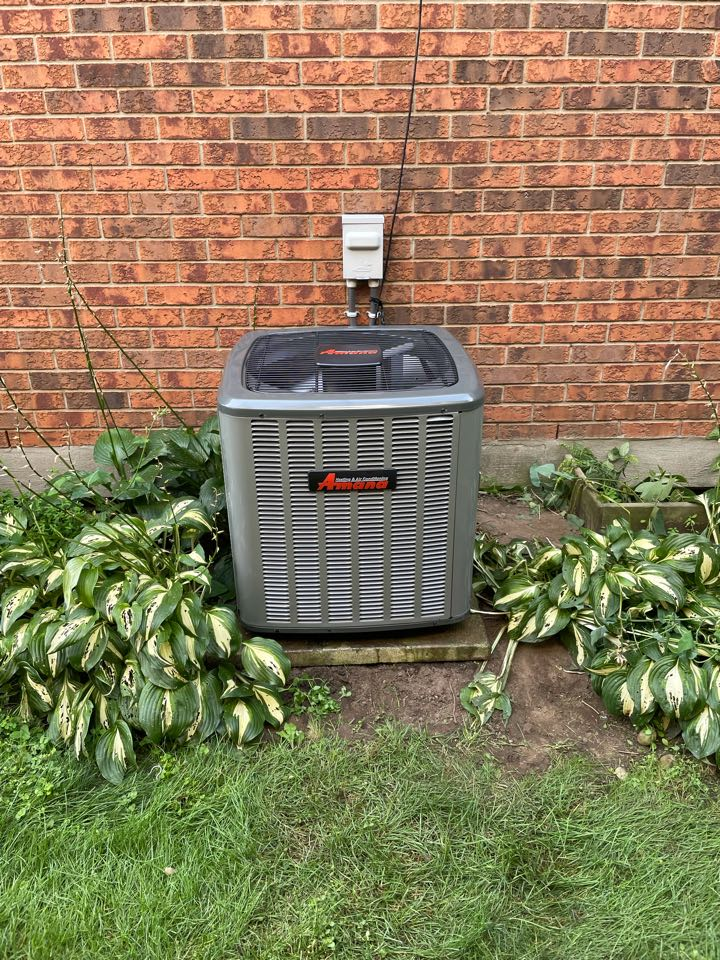 Guelph, ON - Install of a new Amana ASX13 for a customer in Guelph