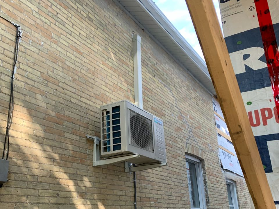 Installation of a Daikin ductless system for a Guelph customer