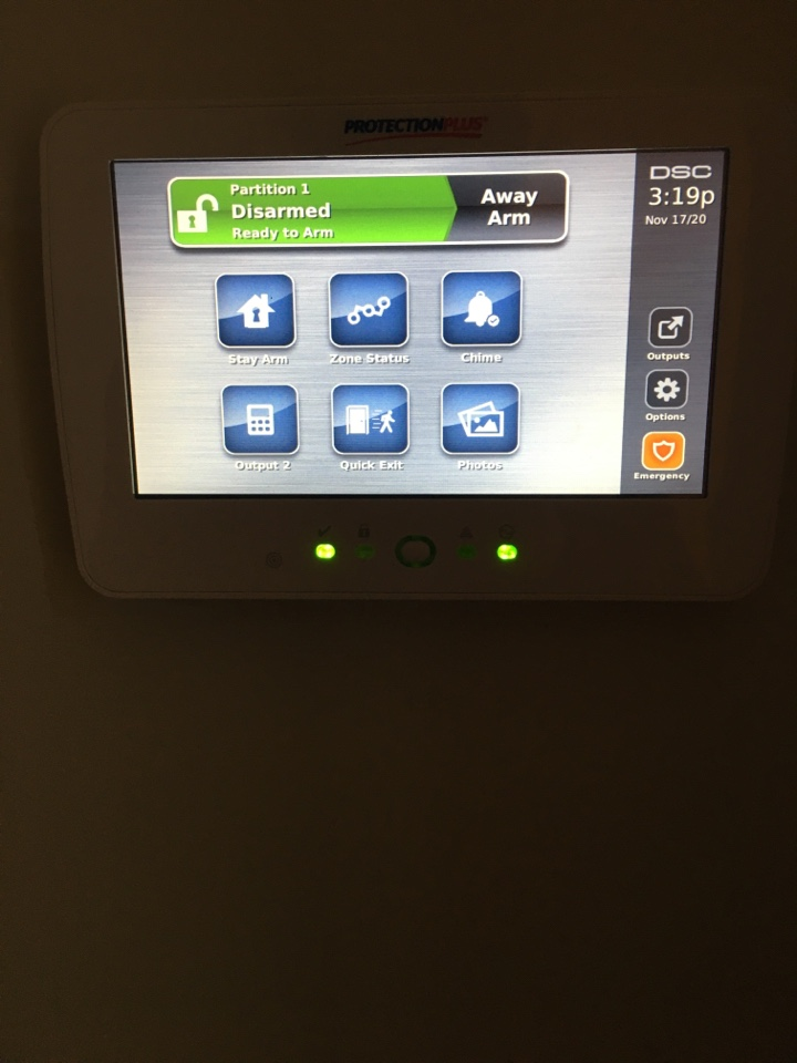 Old Toronto, ON - Dsc neo with alarm.com intruder alarm install