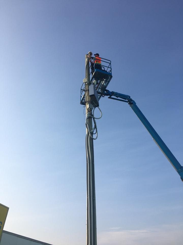 Etobicoke, ON - Installation of PTZ security cameras, Etobicoke