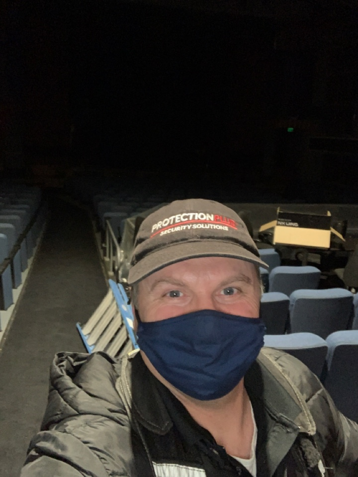 Old Toronto, ON - Installing cameras at the Royal theatre in Toronto