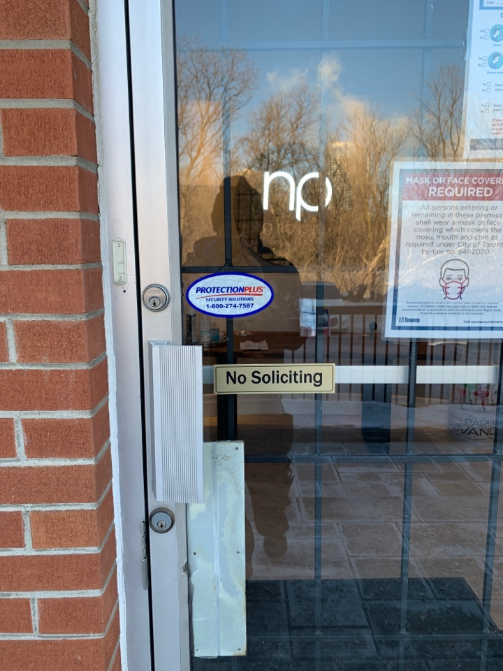 Scarborough, ON - Takeover of security alarm system