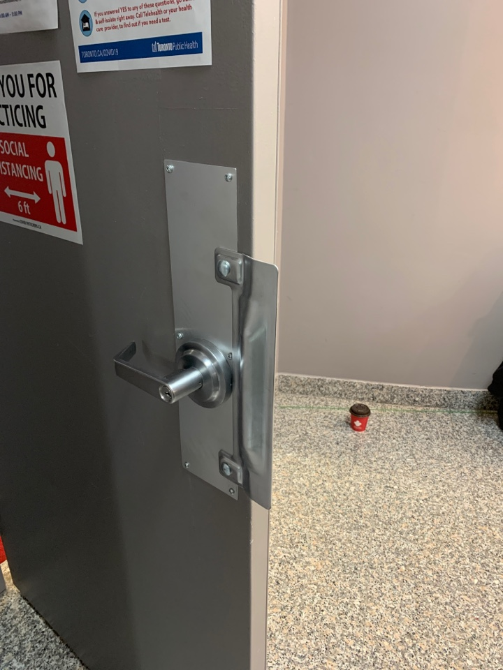 Markham, ON - Lock work for access control