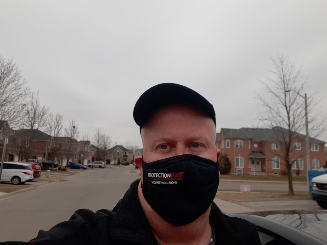Mississauga, ON - When your client calls you to provide security for his Mom's house...you go! #AlarmSystem #Mississauga